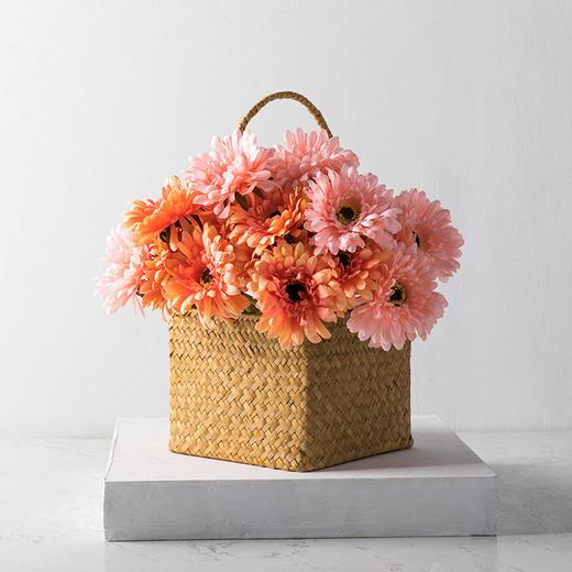 高仿真花艺室内客厅摆设装饰绢花假花干花 短杆非洲菊H 商品图1