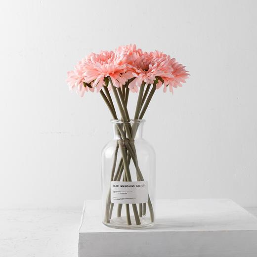 高仿真花艺室内客厅摆设装饰绢花假花干花 短杆非洲菊H 商品图2