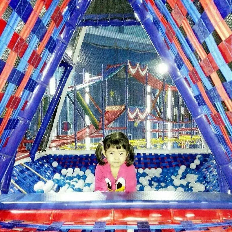 【寒假特惠】四维欢乐城堡&挑战者寒假期间限时秒杀(100元3次通玩亲子