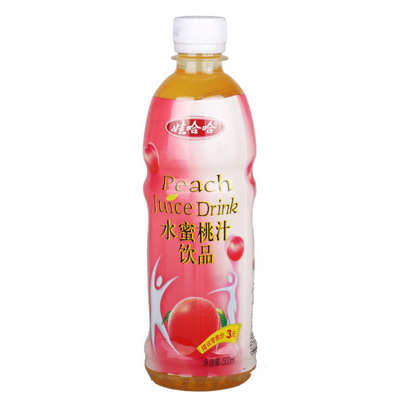 500ml娃哈哈桃汁 1*15瓶(开鲁)图片