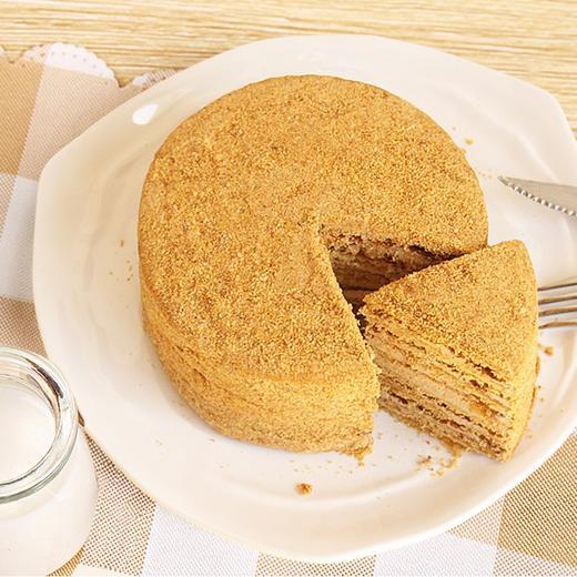 【进口版】俄罗斯进口版提拉米苏双山系列GKK蜂蜜奶油味多层蛋糕每个500g每个两种口味 商品图1