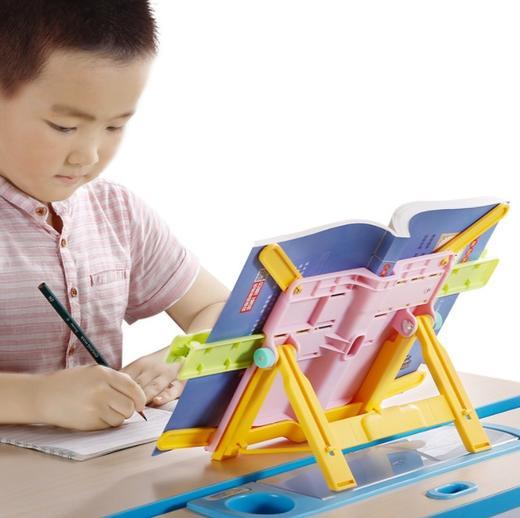 【为思礼】儿童折叠读书架阅读架,学习神器,固定课本,让读书写作业更轻松,端正坐姿,保护视力,大书小书都能用 商品图0