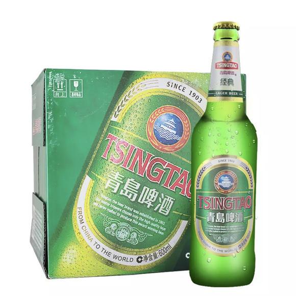 青岛啤酒瓶装