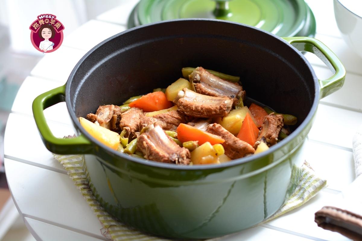 排骨土豆一锅焖慈溪菜品图片