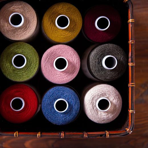 【云绒.筒】正品100%纯山羊绒线机织手编线细线2018 商品图2