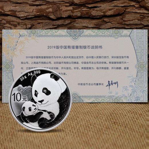 2019年熊猫30克银币 ·中国人民银行发行 商品图3