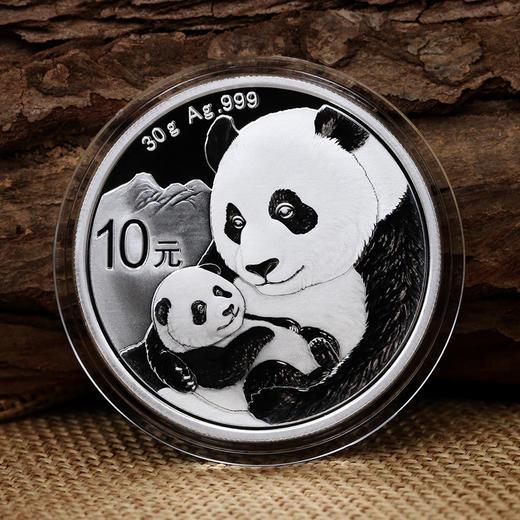 2019年熊猫30克银币 ·中国人民银行发行 商品图1