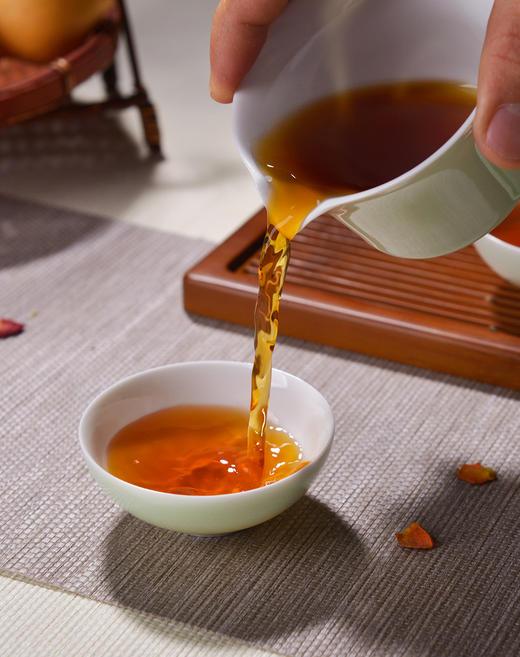 茶人岭  老友茯茶 安化黑茶 金花茯茶800g 商品图2