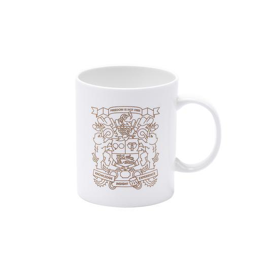 大象公会纹章骨瓷马克杯 限定版文化产品 商品图0