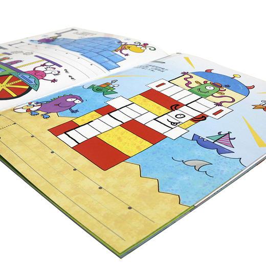 【3岁+】英国Usborne写写擦擦认知书!幼升小,英语、数学、时间启蒙 商品图5