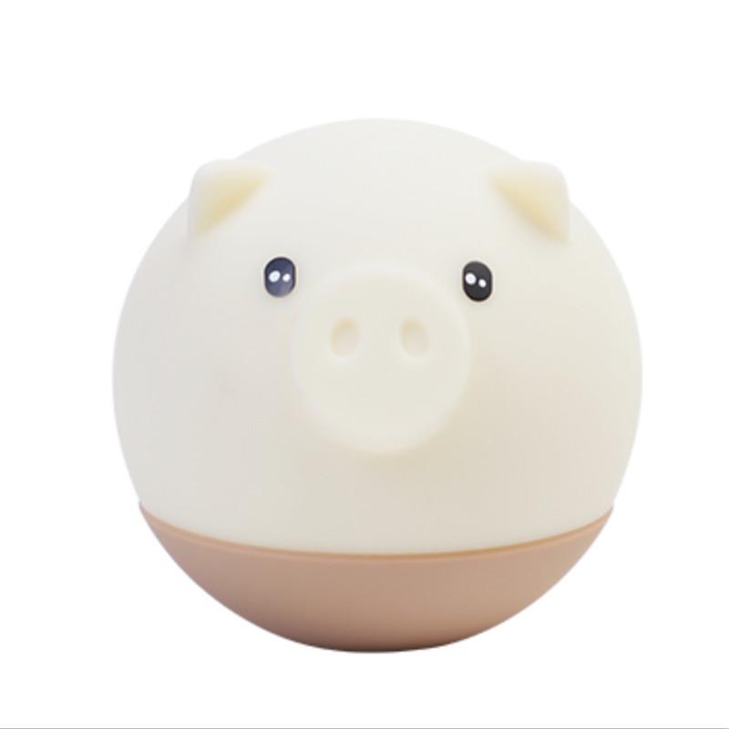 Flydee捣蛋猪情感灯 可爱暖心小灯 声控调光 不倒翁设计 减压神器 商品图7