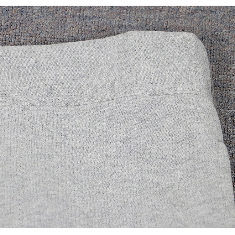特799-mr&mrs 冬季灰色加绒休闲裤 男士 腰部弹性设计图片