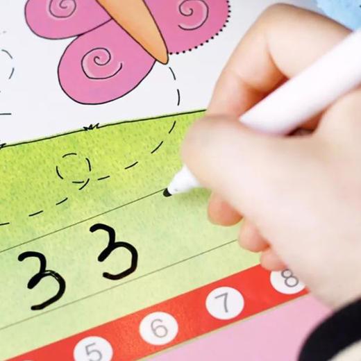 【3岁+】英国Usborne写写擦擦认知书!幼升小,英语、数学、时间启蒙 商品图12