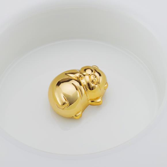 金猪戒指绳子编法图片