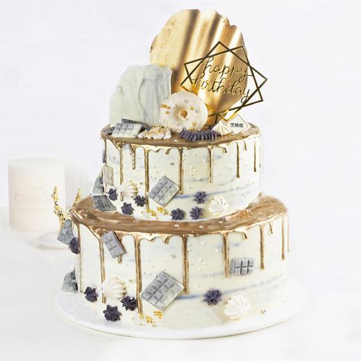 芳华岁月·创意双层蛋糕 商品图0