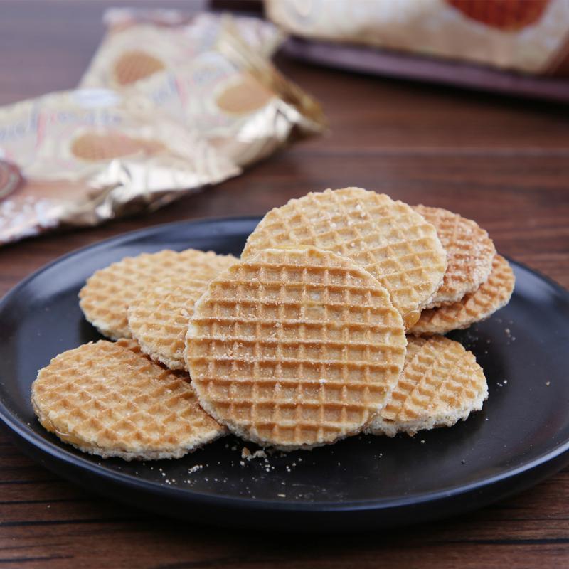 进口食品 俄罗斯蜂蜜拉丝饼500g包邮 商品图8