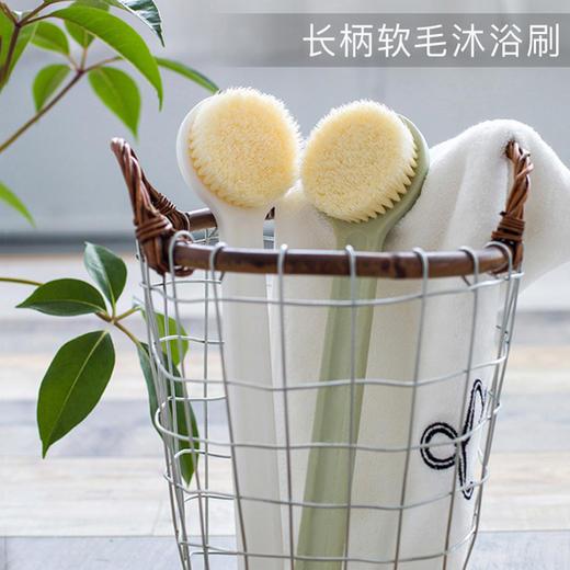 洗澡不求人【长柄檀毛spa沐浴刷】去泥搓背  清洁毛孔  打造光滑美背 商品图2