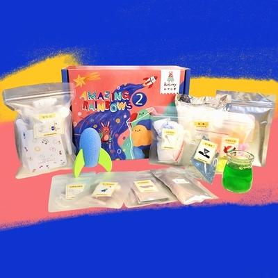 【为思礼】【batbunny】这盒17个实验探索项目的彩虹实验2,激发孩子无限的好奇心和探索欲 商品图2