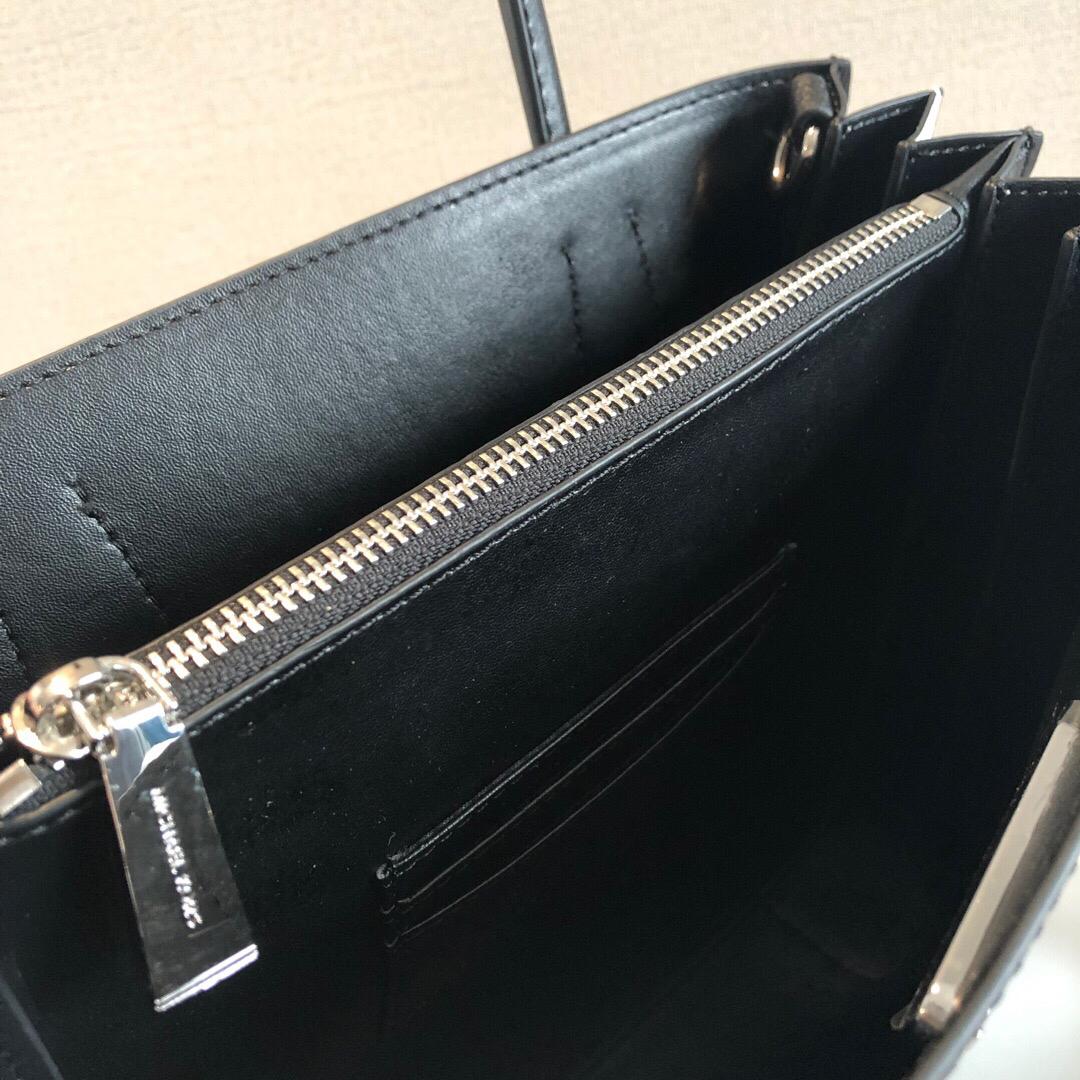 【专柜最新】杨幂同款m家 mercer 拼色风琴包 原厂正品 独家领先专柜图片