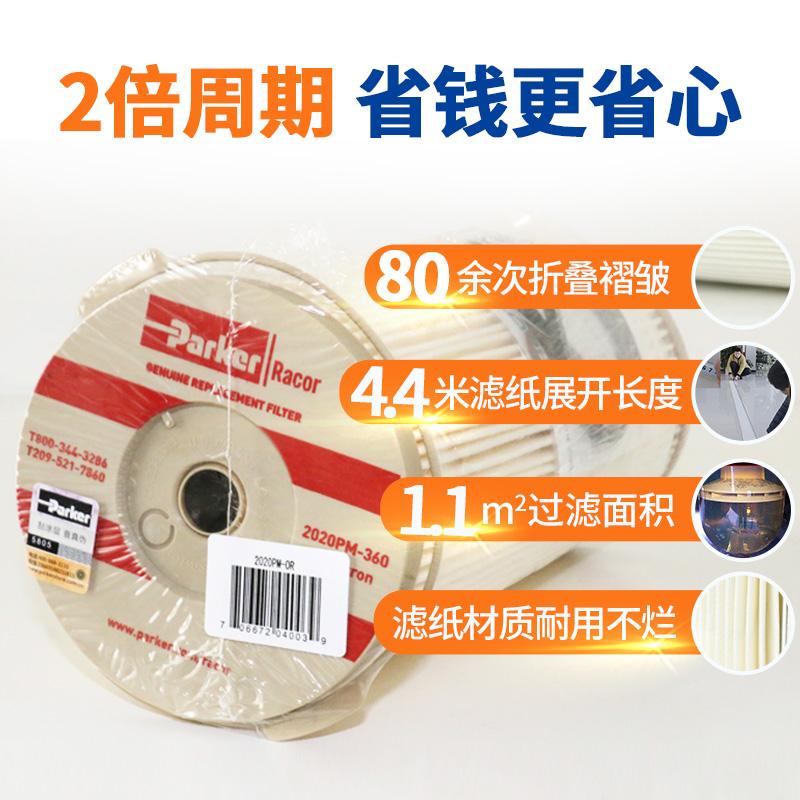 2/10微米 派克 1000FH滤芯 2020tm/sm 商品图2