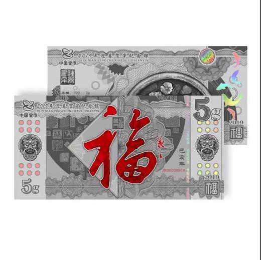 中国金币:2019年迎春贺岁纪念银 商品图1