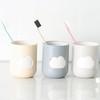 小麦秸秆环保云朵漱口杯 情侣牙刷杯 两个装 颜色随机 商品缩略图1