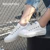 不怕水的英国 Rockfish 小白鞋!梅根王妃怀孕都穿,防雨防污,显腿长! 商品缩略图1