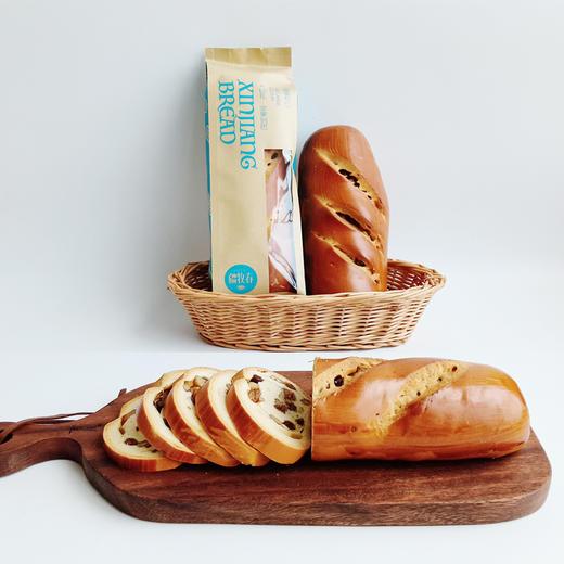 新疆俄罗斯风味列巴 面包早餐 果仁黑麦两种口味 365克*2 商品图3