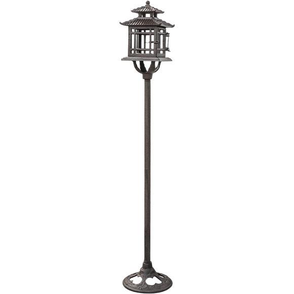 庭院铸铁艺创意婚庆欧式烛台浪漫摆件复古怀旧供佛灯图片