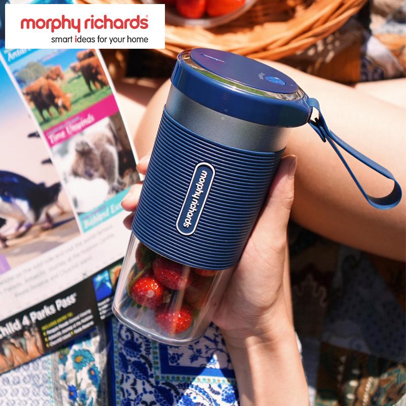 【移动充电 便捷榨汁杯】摩飞便携式榨汁杯 果汁机迷你全自动水果榨汁机