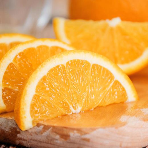 伦晚帝王橙 春橙现摘现发 自家果园橙子果大皮薄 汁多味美 肉质细嫩 不打蜡4斤装 商品图1
