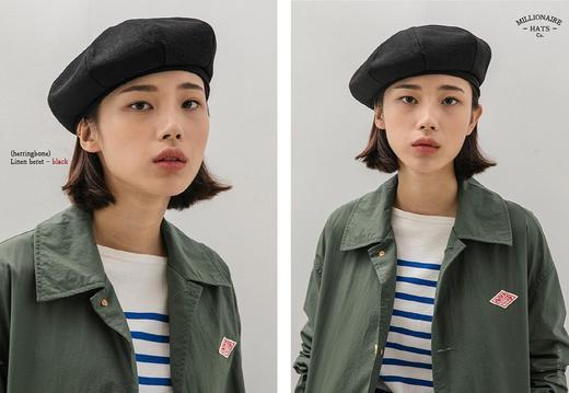 Millionaire Hats韩国设计师品牌日系ins纯棉八角贝雷帽女坏月亮PLUS 商品图2
