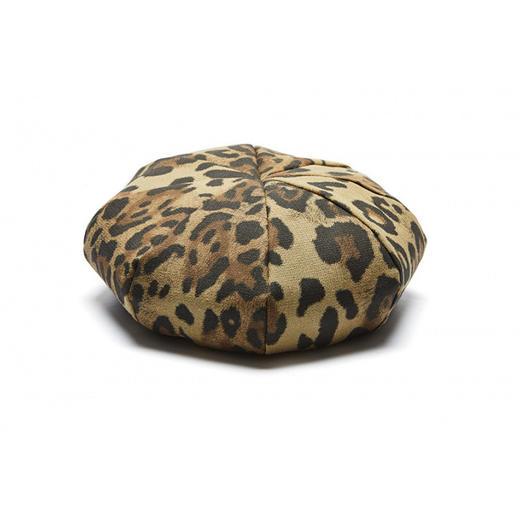 Millionaire Hats韩国设计师品牌个性时尚纯棉豹纹贝雷帽女坏月亮PLUS 商品图4