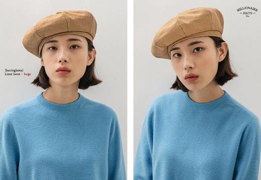 Millionaire Hats韩国设计师品牌日系ins纯棉八角贝雷帽女坏月亮PLUS 商品图1