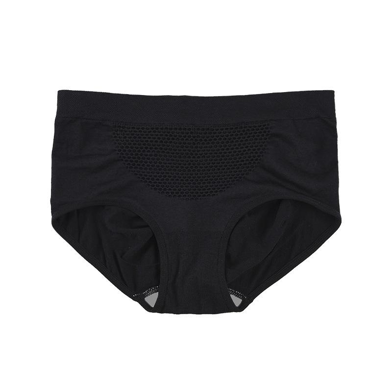 【收腹暖宫×立体提臀×蜂巢设计】无缝塑身内裤女 商品图4