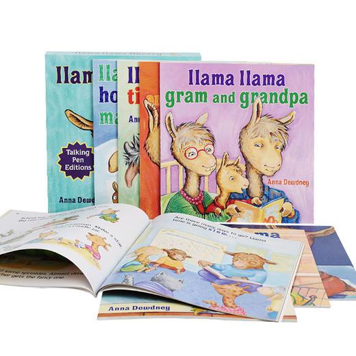 【2-6岁】情绪管理绘本《羊驼拉玛系列》中英双语、英文原版!伤心、焦虑、闹脾气等8种情绪,可爱羊驼来治愈! 商品图12