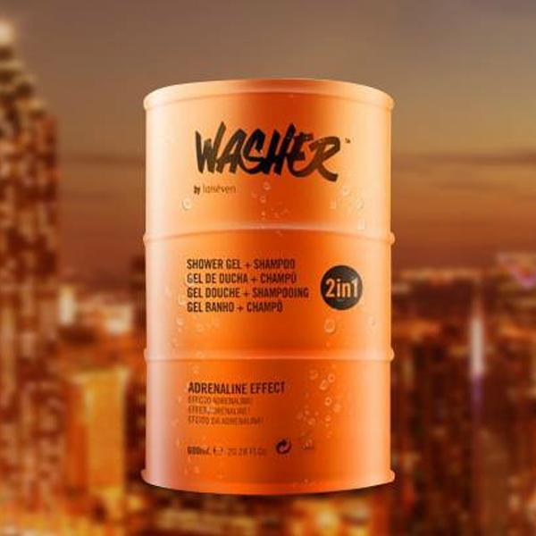 Washer哇帅西班牙原装进口洗发水沐浴露二合一 男女运动清爽留香 商品图6