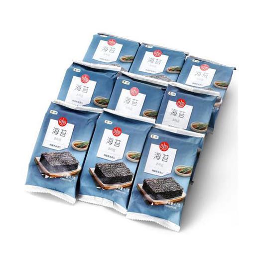 【韩国原装进口】中粮时怡海苔九联包 4.7g*9袋/包 商品图3