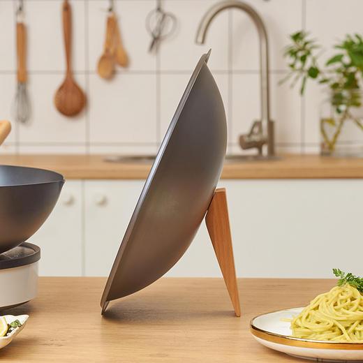 悦味铁锅 大容量、超轻便,不易粘锅、不易生锈 商品图2