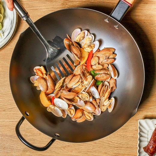 悦味铁锅 大容量、超轻便,不易粘锅、不易生锈 商品图4