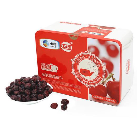中粮屯河金鹤蔓越莓干 300g/盒 商品图0