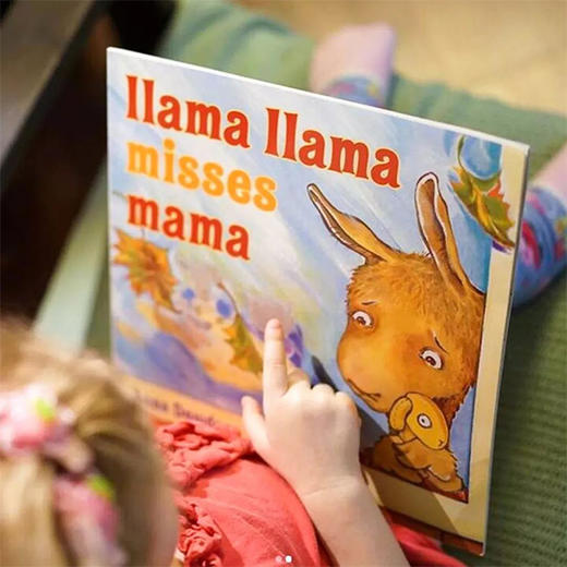 【2-6岁】情绪管理绘本《羊驼拉玛系列》中英双语、英文原版!伤心、焦虑、闹脾气等8种情绪,可爱羊驼来治愈! 商品图11