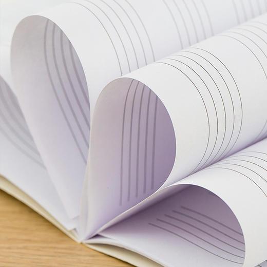 玖月教育定制版五线谱本1本 商品图3