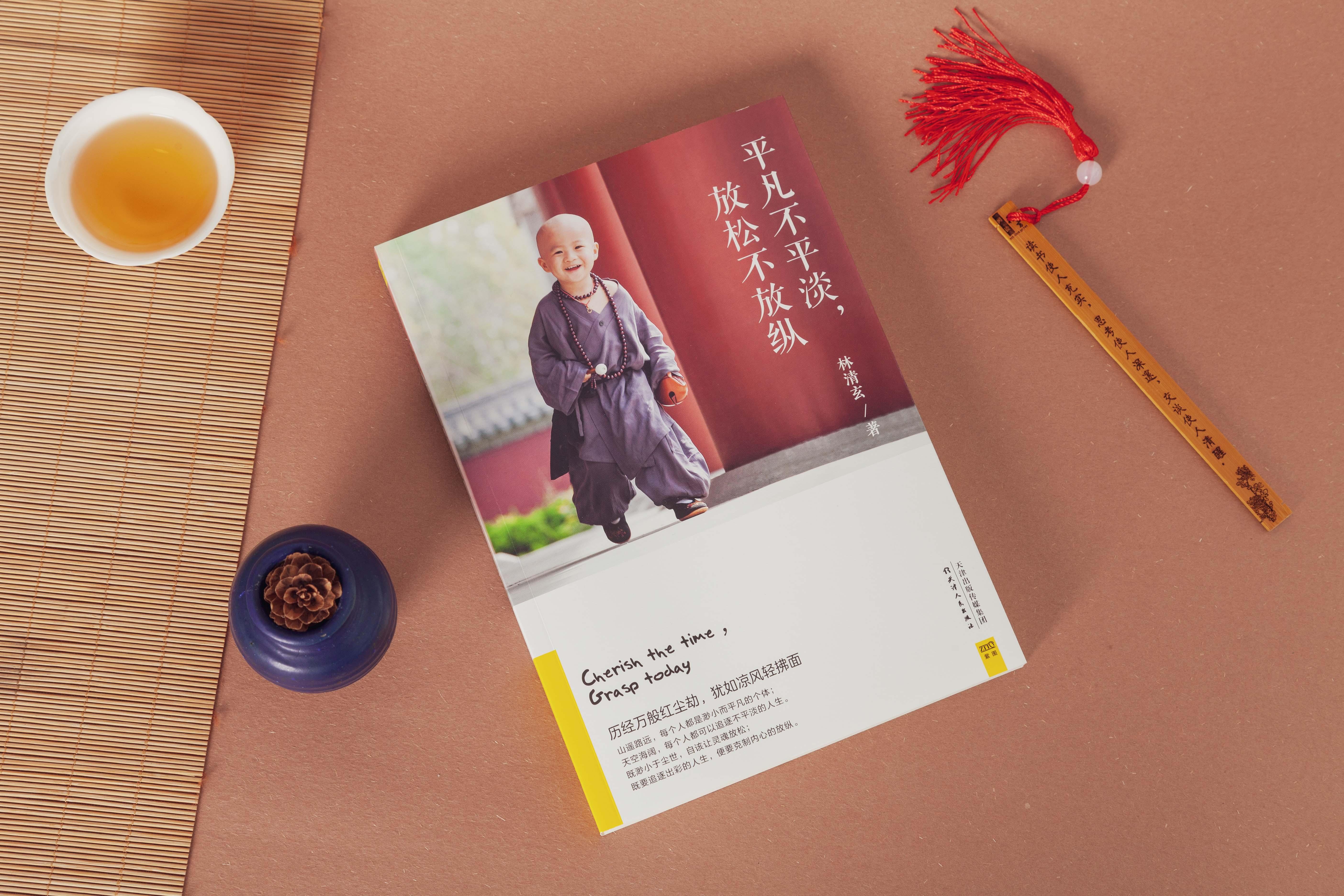 《平凡不平淡,放松不放纵》丨林清玄先生首部以自律为主题的散文集 商品图0