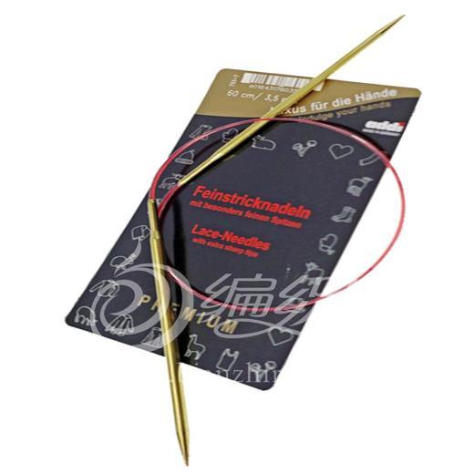 德国原装进口Addi环形针毛衣针编织工具 银针金针可选 正品特价 商品图3