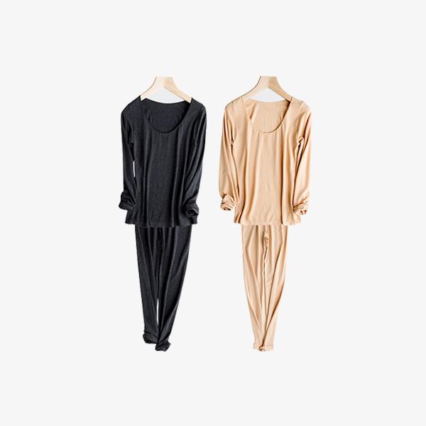 【给你羊绒般的呵护】Valle velo 升级版德绒保暖美体内衣套装