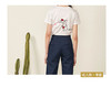 「媒体人的亲子装 」人民网原创 记者编辑 纯棉短袖T恤 母子母女套装 商品缩略图4