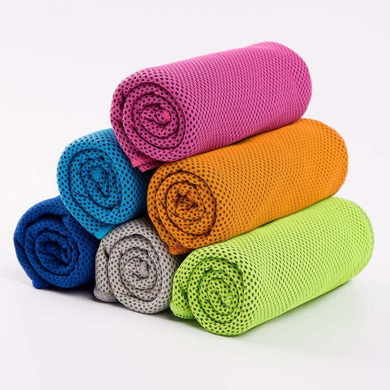 斜月三星 2条装 夏季速干降温毛巾 成人专用运动冰凉巾