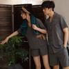 【为思礼】日本简约风格,夏季薄款日式和风/纯棉情侣/居家服衣/浴衣,有品味的情侣都忍不住了..... 商品缩略图0
