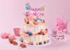小猪佩奇全家福·卡通双层蛋糕 商品缩略图0
